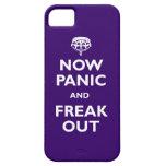 Ahora el pánico y Freak hacia fuera iPhone 5 Case-Mate Carcasa