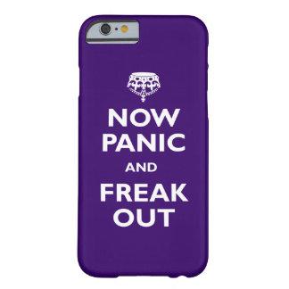 Ahora el pánico y Freak hacia fuera Funda Para iPhone 6 Barely There