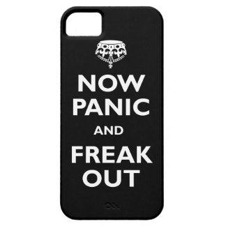 Ahora el pánico y freak hacia fuera iPhone 5 funda