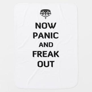 Ahora el pánico y Freak hacia fuera Mantitas Para Bebé