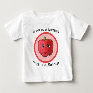 Ahora es el momento para una sonrisa -  pimiento baby T-Shirt