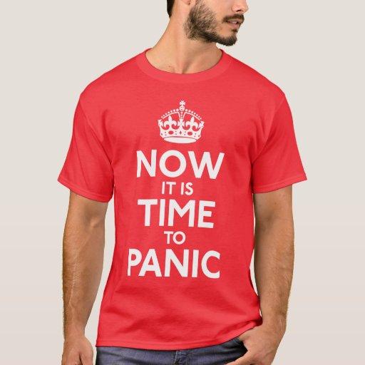Ahora es hora de aterrarse camisa