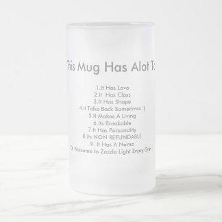 Ahora esta taza tiene mucho ofrecer