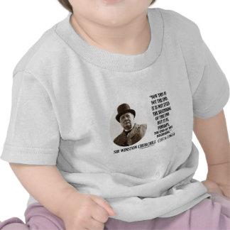 Ahora éste no es el extremo la cita de Winston Ch Camisetas