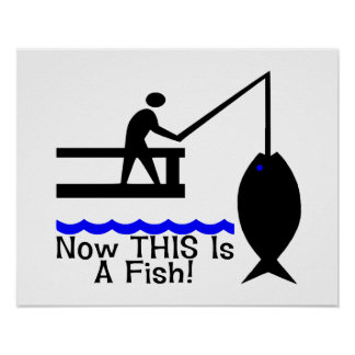 Ahora ESTO es un pescado Impresiones
