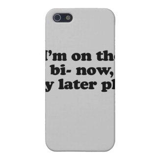 Ahora estoy en el plan posterior del gay del BI iPhone 5 Fundas