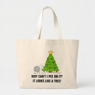 ¡Ahora explique el significado del navidad a su pe Bolsa Tela Grande