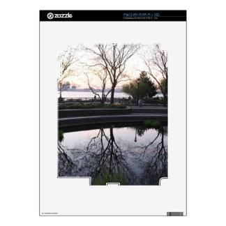 Ahora mismo cerca, horizonte de NYC iPad 2 Calcomanías