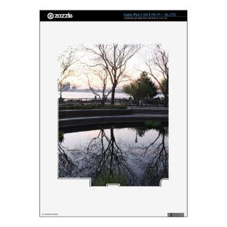 Ahora mismo cerca, horizonte de NYC iPad 3 Pegatina Skin