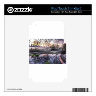 Ahora mismo cerca, parque del talud de NYC iPod Touch 4G Skins