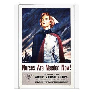 """¡Ahora necesitan a la enfermera! Folleto 8.5"""" X 11"""""""