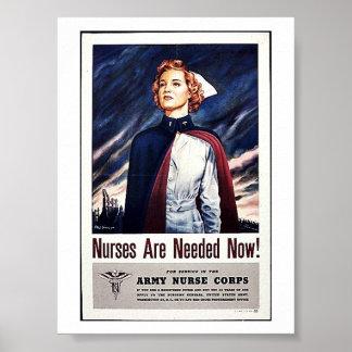 ¡Ahora necesitan a la enfermera! Poster