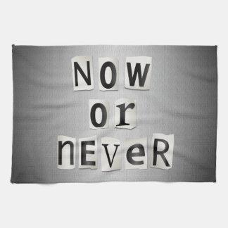 Ahora o nunca toallas