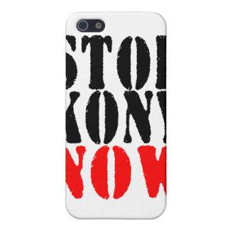 AHORA PARE KONY yo iPhone 5 Fundas