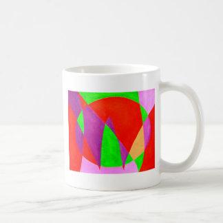 AHORA pintado en arte abstracto de la palabra o Taza De Café
