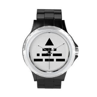 AHORA pirámide (código Morse) Reloj