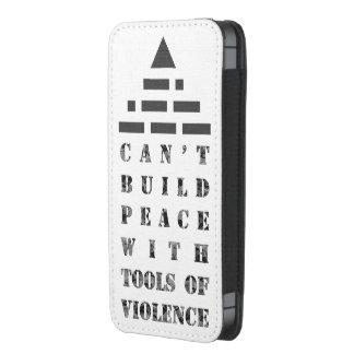 AHORA pirámide (del código Morse) Funda Para iPhone 5