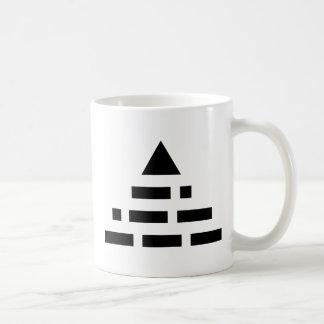 AHORA pirámide Taza De Café