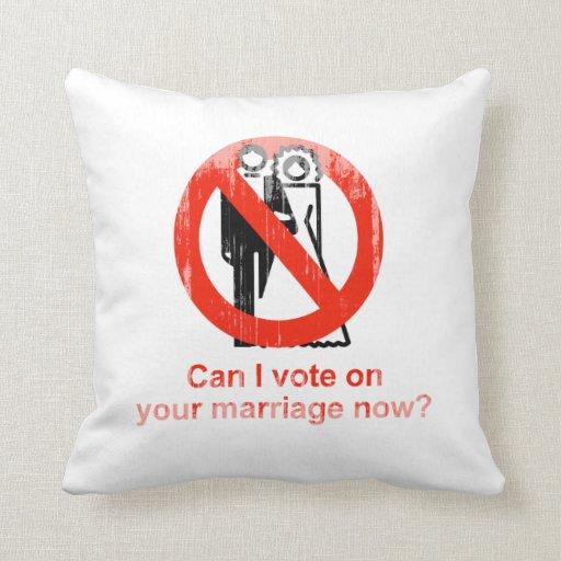 Ahora puede el voto de I en su boda Faded.png Almohada