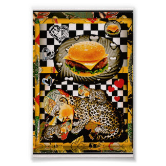 ¡Ahora puedo haz ningún chezburger! Posters