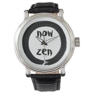 Ahora reloj de Enso del zen por HereZen