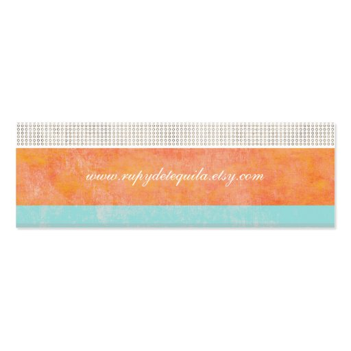 Ahora sea tarjeta de visita colorida feliz
