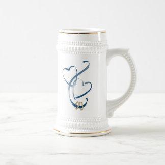 ahora somos uno jarra de cerveza