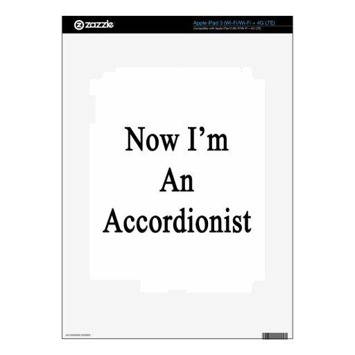 Ahora soy acordeonista iPad 3 skins