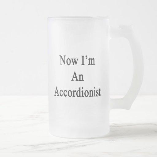 Ahora soy acordeonista tazas