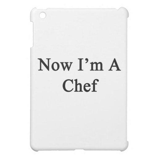 Ahora soy cocinero