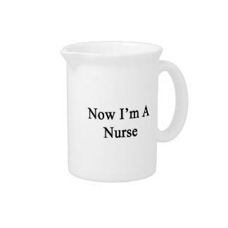 Ahora soy enfermera jarrón