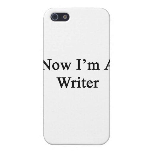 Ahora soy escritor iPhone 5 protector