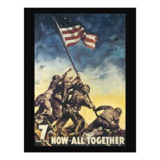 """Ahora todos junto guerra mundial 2 folleto 8.5"""" x 11"""""""