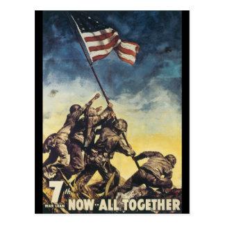 Ahora todos junto guerra mundial 2 postales