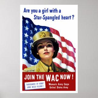 ¡Ahora únase al WAC! Poster