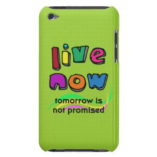 AHORA VIVE la caja de la casamata del tacto de iPod Touch Funda