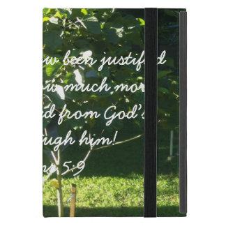 Ahorrado de la cólera de dios a través de Jesús i iPad Mini Protector