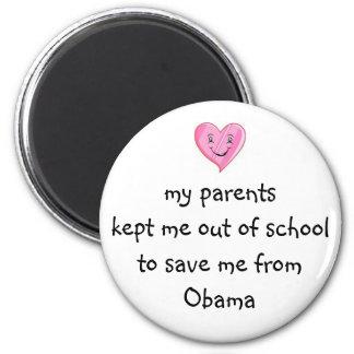 ¡Ahorrado de Obama Iman Para Frigorífico