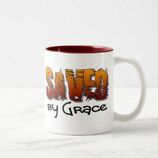 Ahorrado por diseño cristiano de la tolerancia tazas