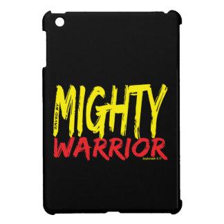 Ahorrado por el guerrero poderoso iPad mini fundas