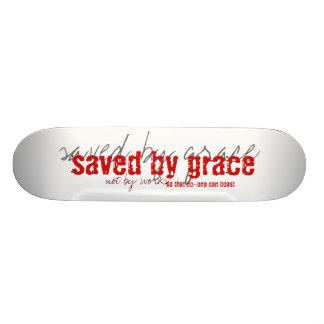ahorrado por el monopatín de la tolerancia patineta personalizada