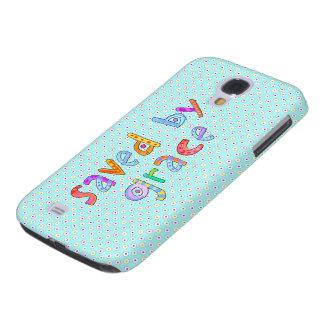 Ahorrado por la tolerancia Polkadots artsy Funda Samsung S4