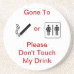 Ahorrador de la bebida posavasos manualidades