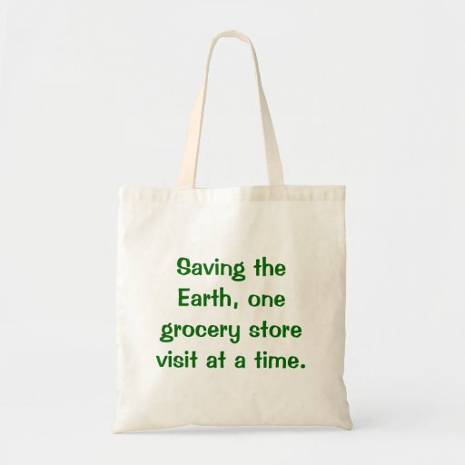 Ahorrando el mundo (bolso de ultramarinos) bolsa tela barata