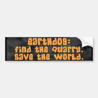 Ahorre a la pegatina para el parachoques de Earthd Pegatina Para Auto