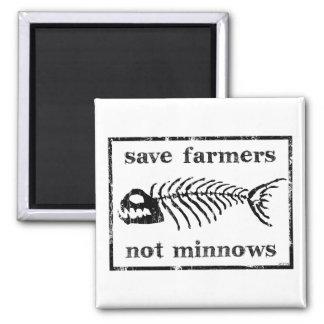 Ahorre a los granjeros imanes de nevera