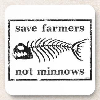 Ahorre a los granjeros posavasos