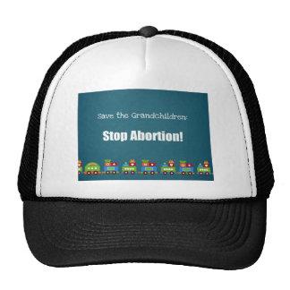 Ahorre a los nietos ¡Pare el aborto Gorro