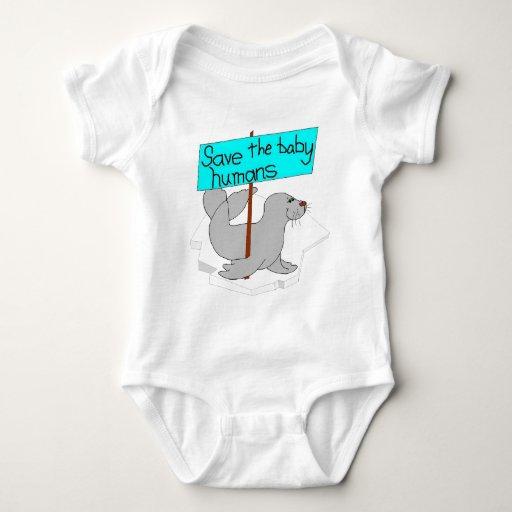 Ahorre a los seres humanos del bebé body para bebé