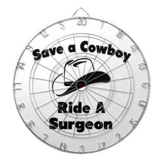 Ahorre a un vaquero. Monte a un cirujano